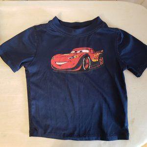 Disney Pixar Cars Short Sleeve T-shirt Size 2T (T5)